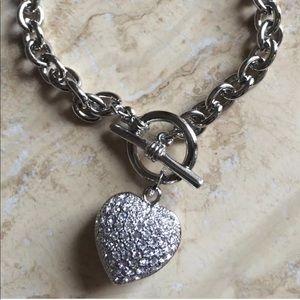 Jewelry - 🔥🔥Bracelet heart made w Swarovski elements